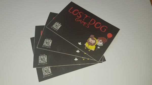 Lost Dog Sticker 2