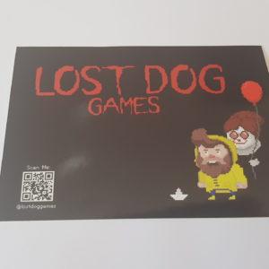 Lost Dog IT Sticker 1