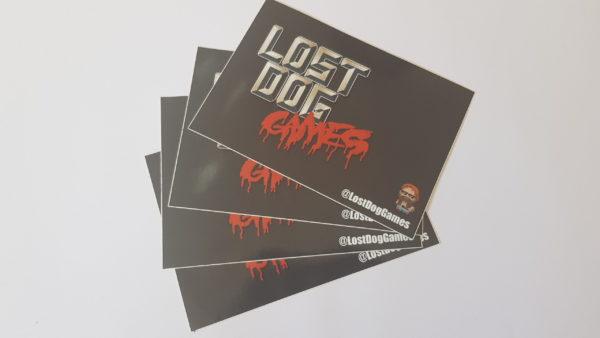 Lost Dog Legacy Sticker 2